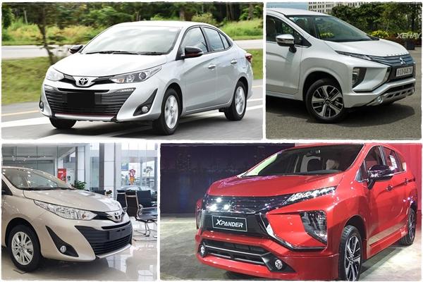 Với 600 triệu đồng, nên mua xe Toyota Vios G 1.5CVT hay Mitsubishi Xpander 1.5AT?
