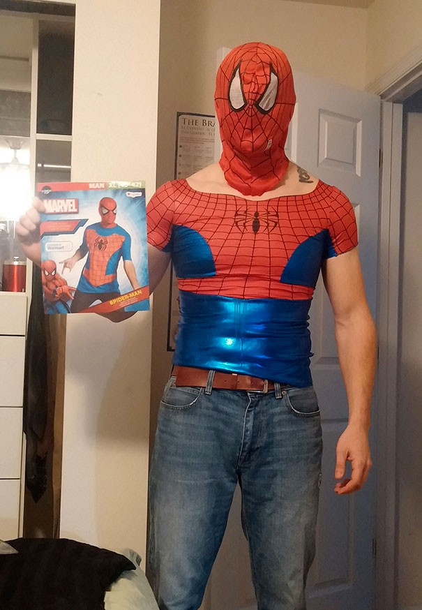 Không hiểu cái áo người nhện này dành cho nam hay nữ?