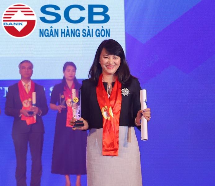 SCB vinh dự nhận giải thưởng thương hiệu mạnh Việt Nam