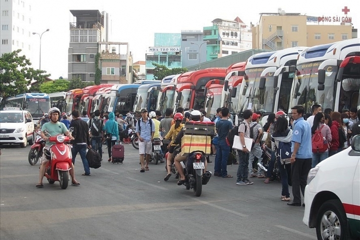 TP Hồ Chí Minh: Tăng giá vé xe tối đa 40% trong dịp lễ 30/4 và 1/5