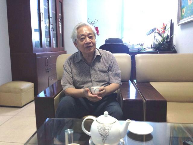GS.TS Phạm Tất Dong - Phó Chủ tịch kiêm Tổng thư ký Trung ương Hội khuyến học Việt Nam. Ảnh: Q.A