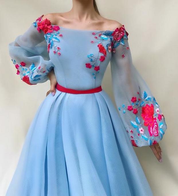 Nhà thiết kế tạo ra những chiếc váy đẹp như cổ tích khiến chị em thích mê 12