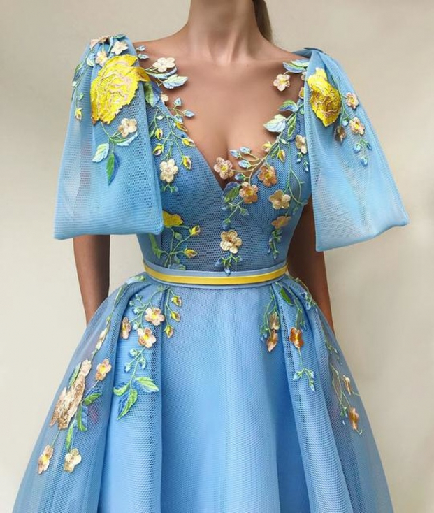 Nhà thiết kế tạo ra những chiếc váy đẹp như cổ tích khiến chị em thích mê 8