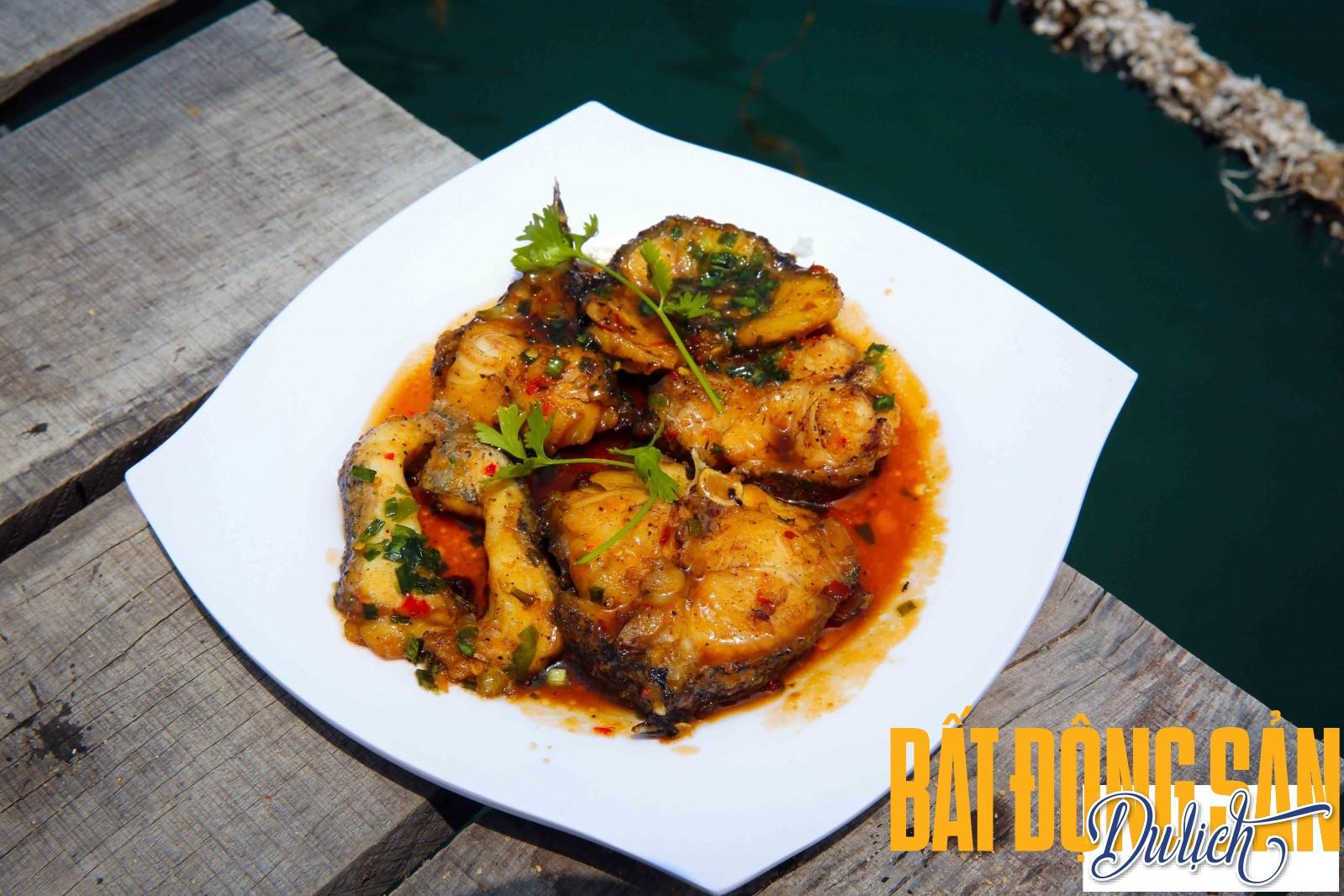 Biển Vĩnh Hy còn là nơi có nhiều cá chẽm sinh sống và thường được các nhà bè thu mua, mang về chế biến các món ẩm thực khác nhau cho du khách…