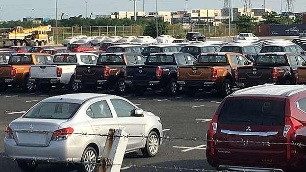 52.000 xe ô tô nhập khẩu vào Việt Nam tháng 4