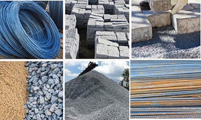 Giá cát, thép và xi măng đồng loạt tăng