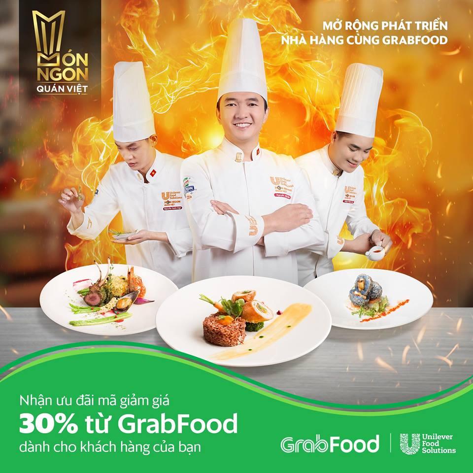 GrabFood đồng hành cùng cuộc thi Món Ngon Quán Việt 2019
