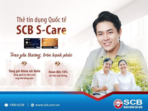 SCB ra mắt thẻ tín dụng quốc tế đầu tiên tặng gói khám tầm soát ung thư