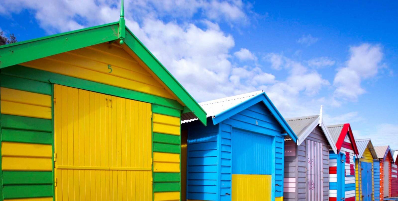 Brighton: Bãi biển của những ngôi nhà đầy sắc màu