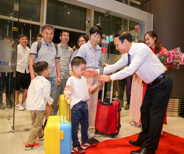 Khai trương đường bay Vân Đồn - Thẩm Quyến, sân bay Vân Đồn hiện thực hóa mục tiêu phát triển