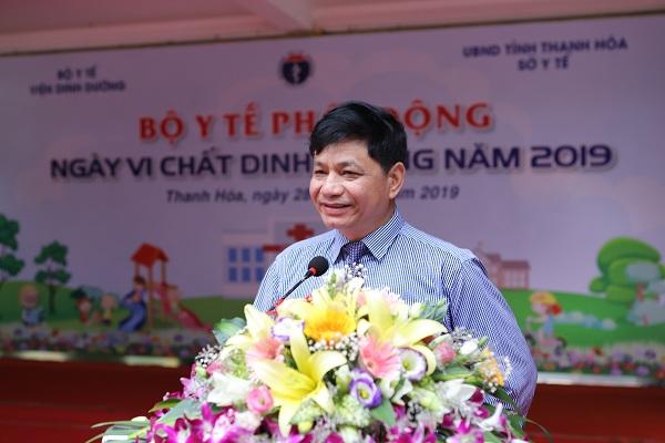 GS.TS Lê Danh Tuyên – Viện trưởng Viện Dinh Dưỡng, Bộ Y Tế nhấn mạnh vai trò quan trọng của các vi chất trong khẩu phần ăn hàng ngày giúp tăng cường phát triển thể chất và trí tuệ.