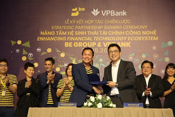 BE GROUP bắt tay VPBank hướng đến hệ sinh thái tài chính công nghệ