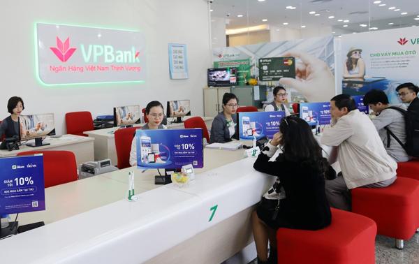 Số lượng khách sử dụng dịch vụ thanh toán trực tuyến VPBank tăng 11 lần trong 1 năm qua