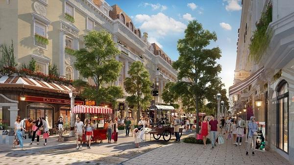 """Shophouse Europe: Thiên đường mua sắm đậm chất """"Âu Châu"""""""