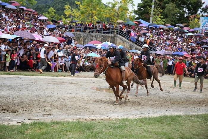 Lần đầu tiên, lễ hội đua ngựa truyền thống vùng cao được tổ chức tại Fansipan