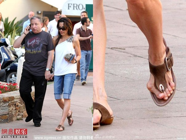 Những đôi chân biến dạng vẹo vọ, xấu xí và đau đớn vì đam mê đi giày cao gót của các sao 2