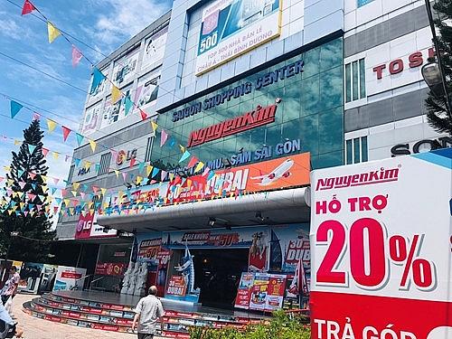 Siêu thị điện máy Nguyễn Kim thu đổi tivi Asanzo trên toàn hệ thống