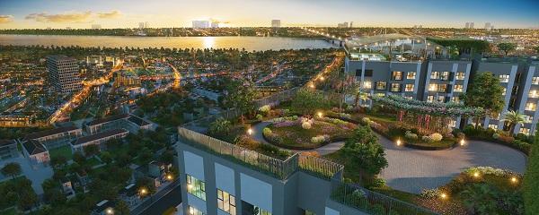 'Nghỉ dưỡng giữa lòng Thủ đô' với Imperia Sky Garden