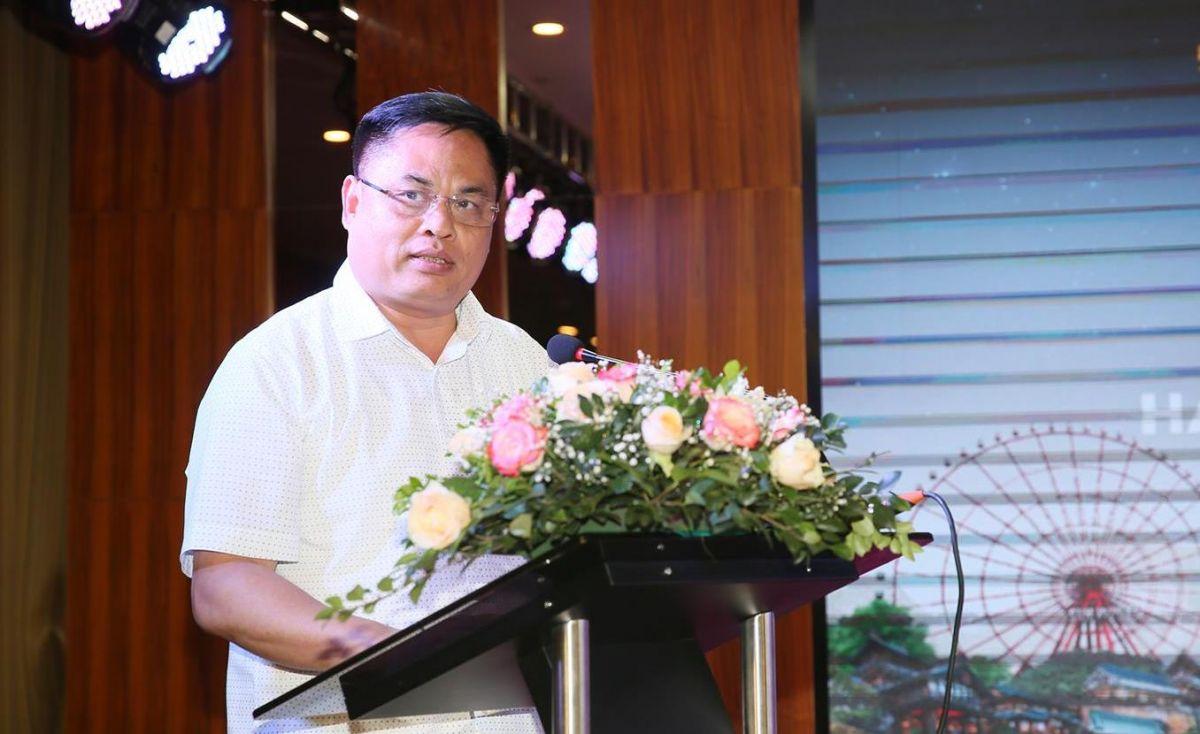 Ông Phạm Ngọc Thủy – Giám đốc Sở Du lịch Hạ Long phát biểu tại tọa đàm.