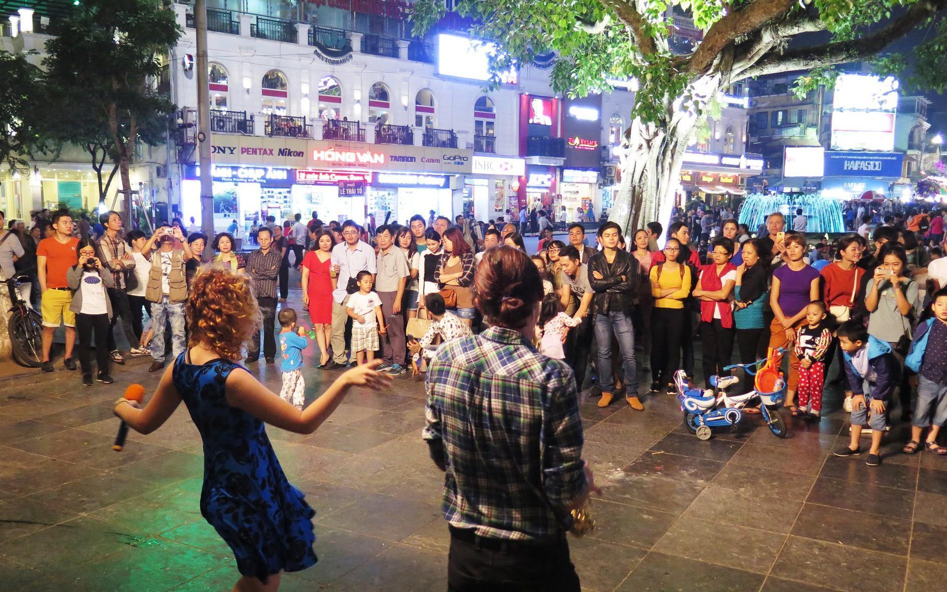 Hà Nội: Nhiều hoạt động giải trí trong hai ngày cuối tuần