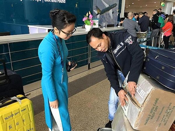 Từ 1/8, hành lý xách tay đi máy bay tăng từ 7kg lên 12kg