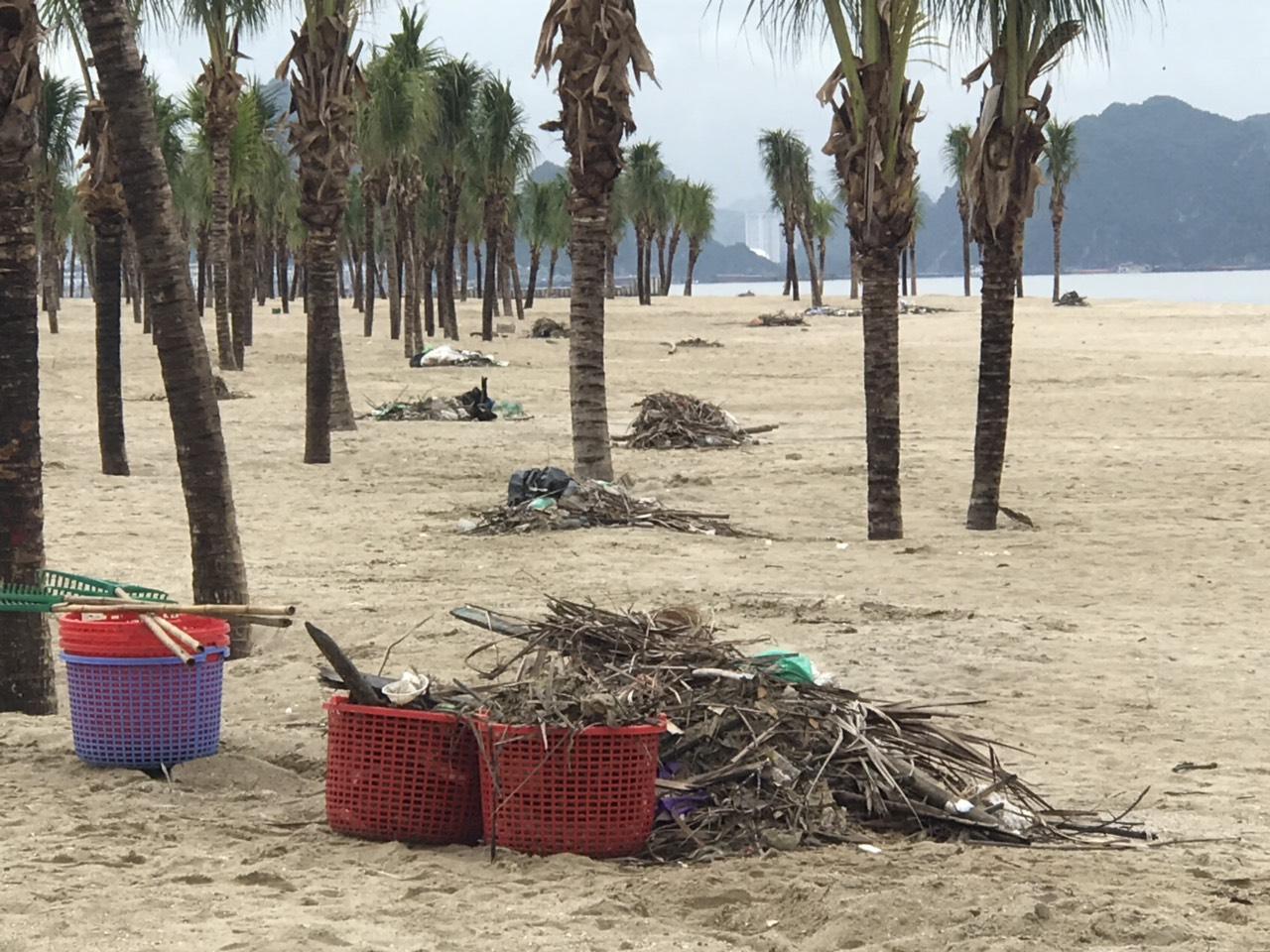 Du khách 'kỷ niệm' biển Bãi Cháy 6 tấn rác một ngày