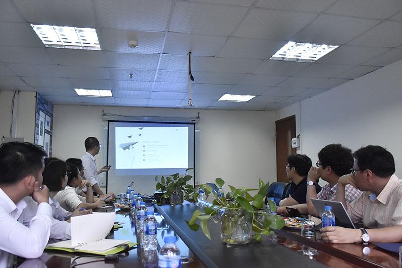 Đại diện Capital House chia sẻ kinh nghiệm thực tiễn triển khai phát triển NOXH tại các dự án EcoHome 1, EcoHome 2, EcoHome 3.