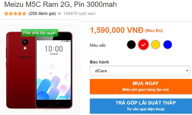 Điện thoại Trung Quốc Meizu đang được rao bán như thế nào ở Việt Nam?