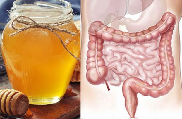 p/Mật ong có tác dụng nhuận khô, làm sạch ruột, cải thiện tình trạng táo bónp/