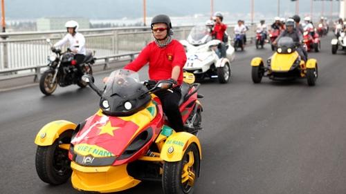 Bộ Công an bác đề xuất cho môtô 3 bánh phân khối lớn vào Việt Nam