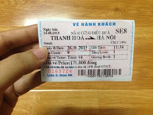 Khách tự đặt chỗ, in vé tại nhà khi đi tàu hỏa