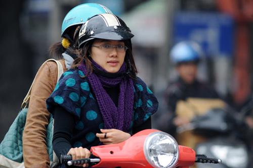 Tin không khí lạnh tăng cường và cảnh báo ngập lụt tại Hà Nội
