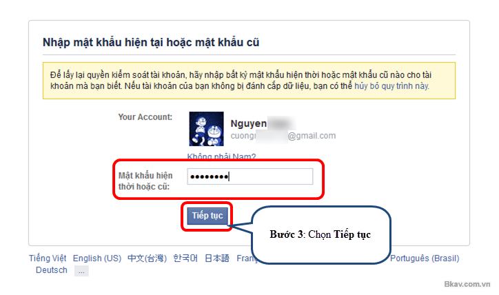 Cách nhanh nhất lấy lại tài khoản Facebook bị hack