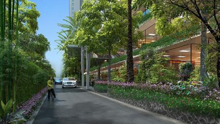 Hệ thống tường cây xanh độc đáo tại EcoLife Capitol.