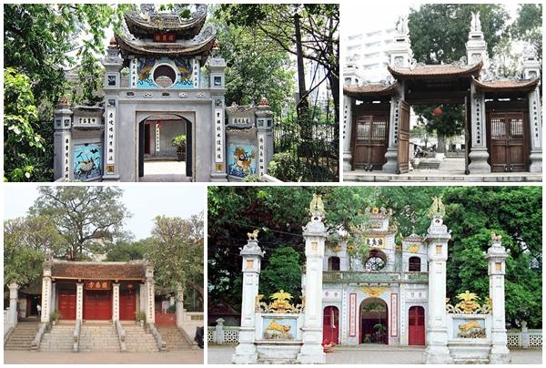 Những ngôi đền người dân Hà Nội đi lễ cầu may đầu năm