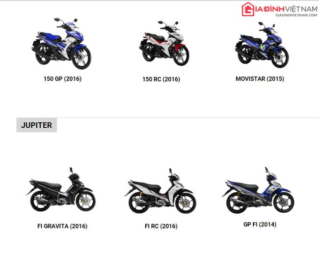 Bảng giá xe số Yamaha cập nhật tháng 3/2016