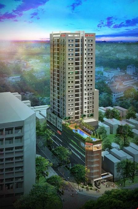 Phối cảnh dự án chung cư cao cấp 317 Trường Chinh.