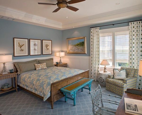 Phòng ngủ nên sơn màu nào để có giấc ngủ sâu?