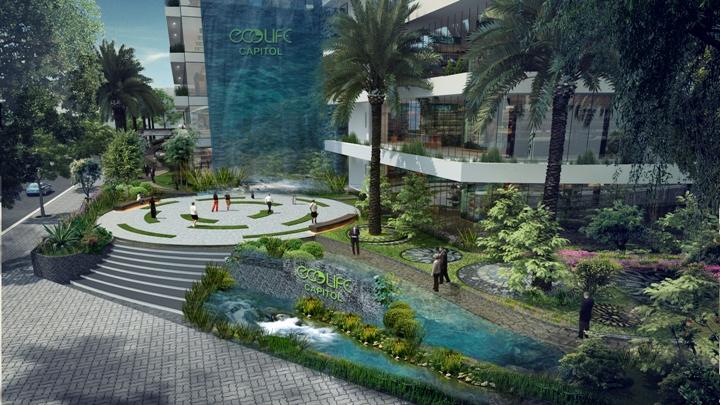EcoLife Capitol: Cơ hội với những căn hộ xanh tiêu chuẩn quốc tế