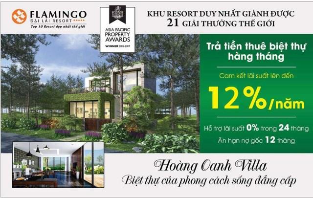 """Vĩnh Phúc: Chủ đầu tư Flamingo Đại Lải Resort """"bẫy"""" khách hàng?"""