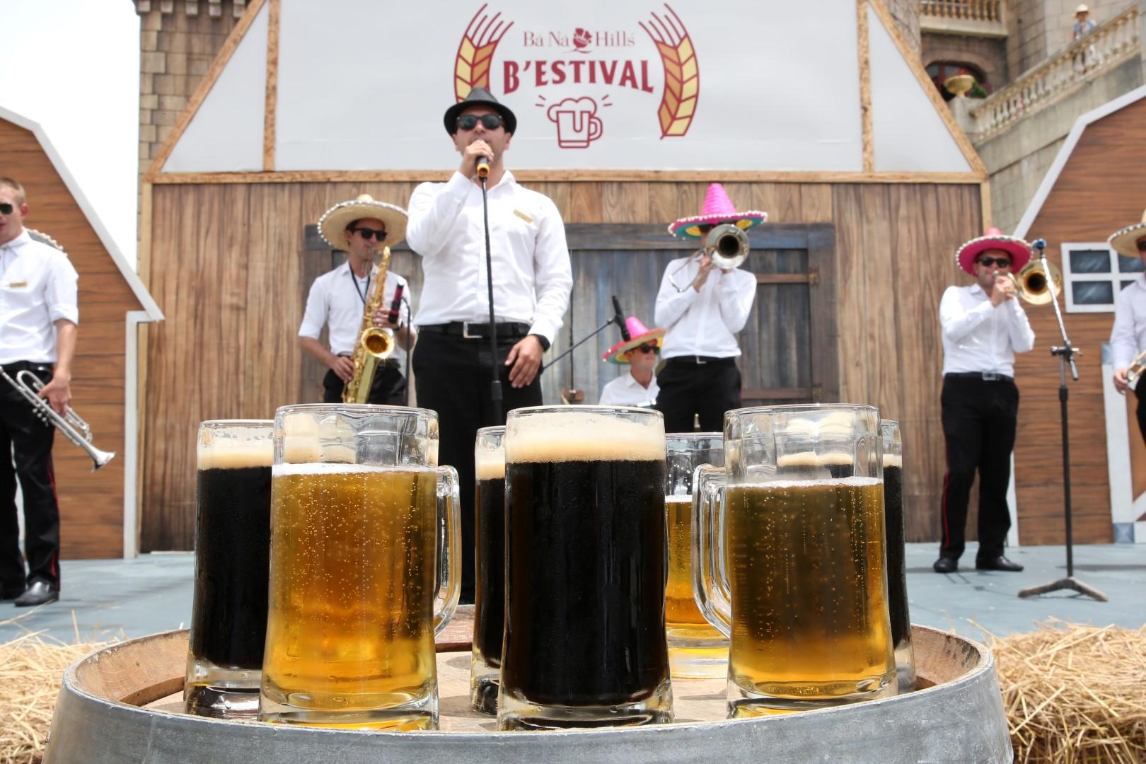 Thỏa sức uống bia Đức miễn phí với B'estival 2016 tại Bà Nà Hills