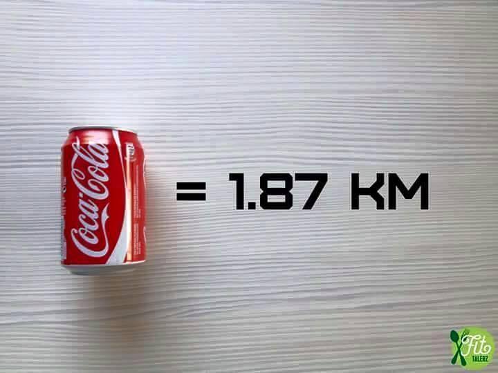 Uống một lon nước ngọt tương đương sẽ phải đi bộ gần 2km để tiêu hao..