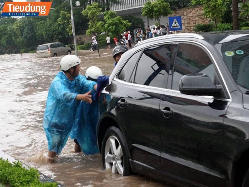 Ô tô ngập nước dù được khắc phục nhưng sau đó vẫn xảy ra nhiều lỗi.