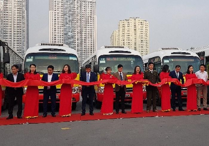 Hà Nội mở thêm 4 tuyến buýt kết nối các vùng ngoại thành