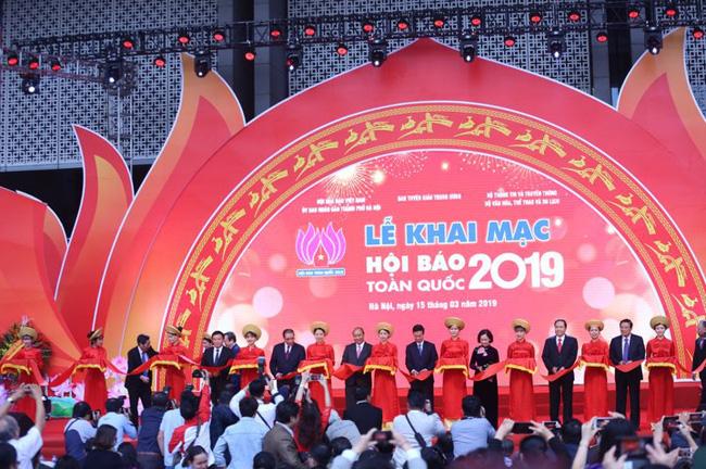 """Hội Báo toàn quốc 2019:  """"Báo chí Việt Nam đổi mới, sáng tạo, trách nhiệm vì lợi ích của đất nước và nhân dân"""""""