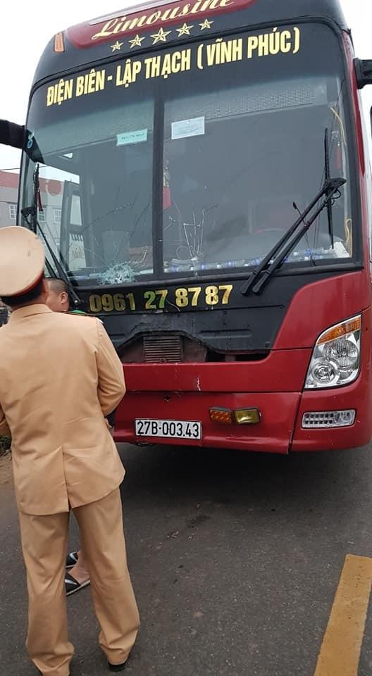 Chiếc xe khách gây tai nạn khiến 7 người tử vong