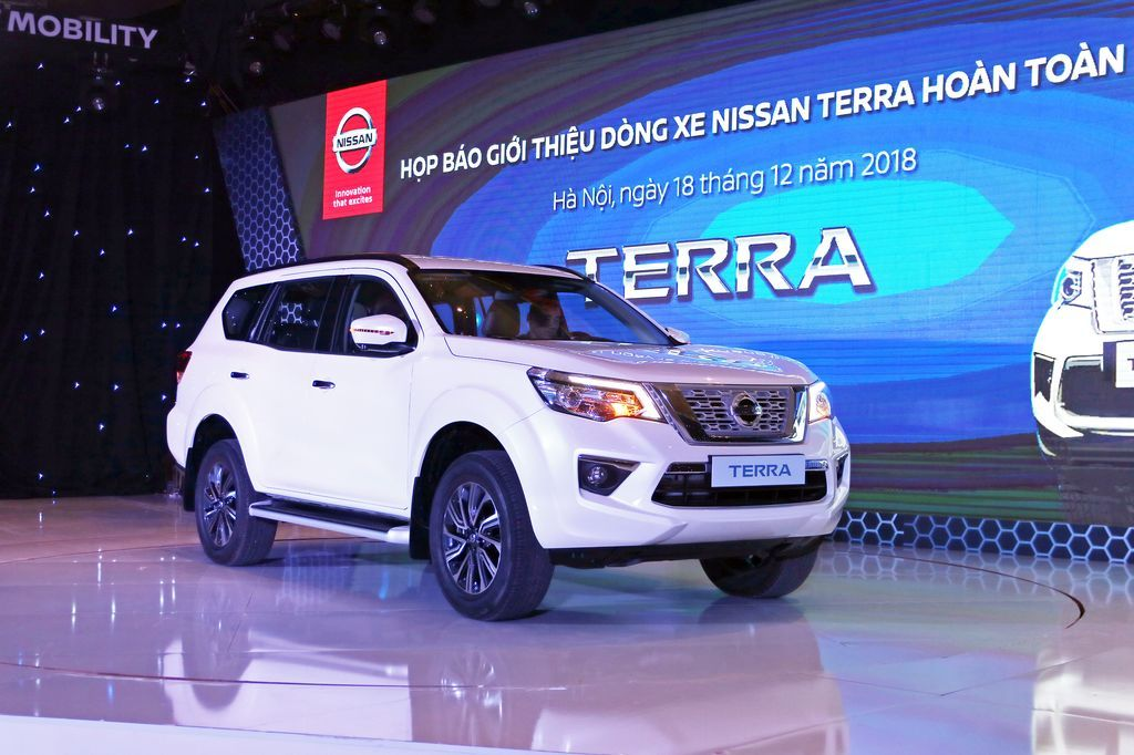 Dòng xe mới nhất của Nissan - Nissan Terra