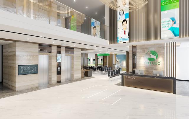 Không gian bên trong phòng khám mới tại cơ sở 2 Trần Duy Hưng (Cầu Giấy, Hà Nội)