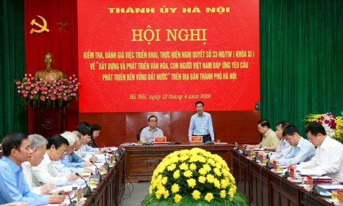 Hà Nội đi đầu trong phát triển văn hóa, con người Việt Nam