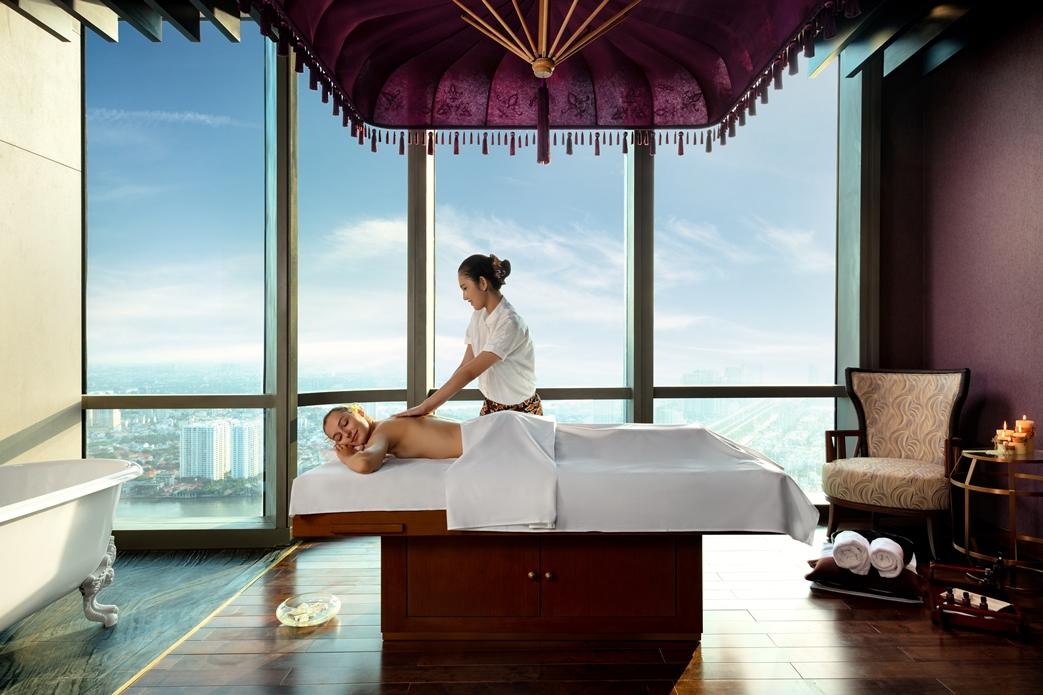 """...Akoya Spa được ví là """"Bali in the Sky"""